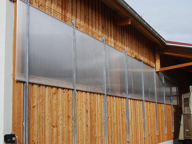 Zubehör Absenkbare Lichtbänder Hau Stallsysteme Rinderställe